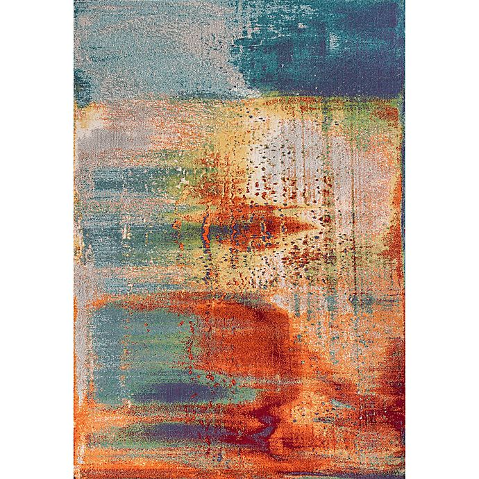Multicolor Area Rug | Bed Bath & Beyond