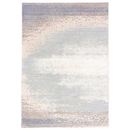 Jaipur Rumi Rug in Grey/White