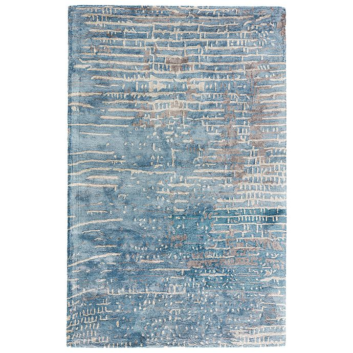 Alternate image 1 for Jaipur Layloe 2-Foot x 3-Foot Accent Rug in Blue