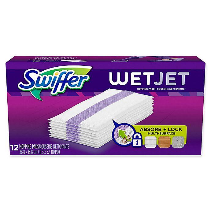 Swiffer 174 Wet Jet Power Mop Refill Set Of 12 Bed Bath