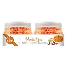 Smells Begone 2-Pack Pumpkin Spice Odor Neutralizing Gel Beads