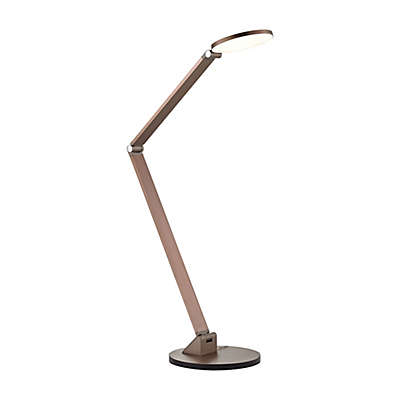 Dimond Lighting Mono Elbow LED Table Lamp in Rose Gold