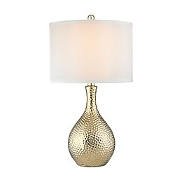 Dimond Lighting Soleil Table Lamp in Gold Plate