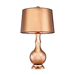 Dimond Lighting Mimosa 31.5-Inch Table Lamp in Copper