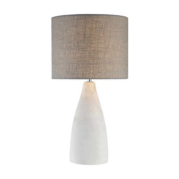 Alternate image 1 for Dimond Lighting Rochefort Table Lamp with Metal/Polished Concrete Conical Base