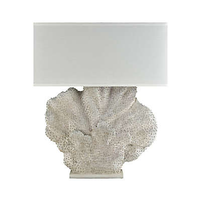 Diamond Lighting Menemsha Oversized Outdoor Table Lamp in White