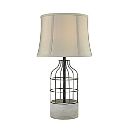 Dimond Lighting Rochefort Outdoor Table Lamp in Oil Rubbed Bronze