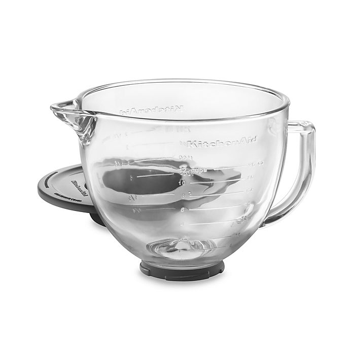 Alternate image 1 for KitchenAid® Glass Bowl for 5-Quart Artisan and Tilt-Head Stand Mixers