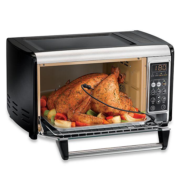 Hamilton Beach 6 Slice Capacity Toaster Oven: Hamilton Beach® 6-Slice Set And Forget Toaster Oven