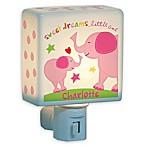 Girl Elephant Nightlight in Pink