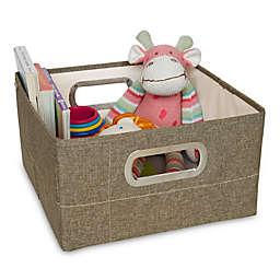 JJ Cole® 6.5-Inch Storage Box in Greige