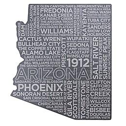 Top Shelf Living Arizona Etched Slate Cheese Board