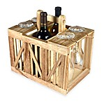 Artland® Mixology Wood Crate Wine Caddy