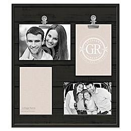 Grasslands Road® Shiplap 4-Opening Frame in Black