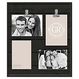 Grasslands Road® Shiplap 4-Opening Frame in Black