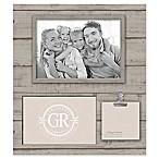 Grasslands Road® Shiplap 3-Opening Frame in Grey/Beige
