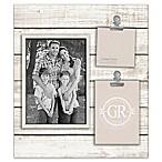 Grasslands Road® Shiplap 3-Opening Frame in White