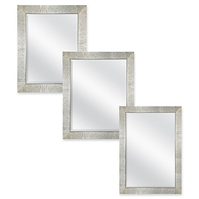 Rocco Wall Mirror In Champagne Bed Bath And Beyond Canada