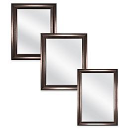 Carson Wall Mirror in Bronze