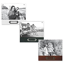 Rustic Silas 4-Inch x 6-Inch Wood Memo Picture Frame
