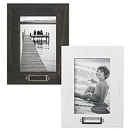 Rustic Museum 4-Inch x 6-Inch Wood Memo Picture Frame