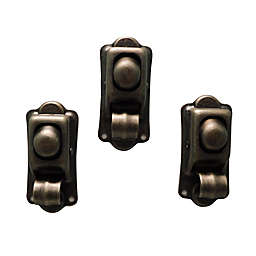 Sweet Bird & Co. Antique Plated 3-Pack Clip Magnets