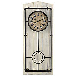 Sterling & Noble Farmhouse Regulator Wall Clock