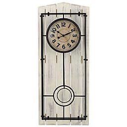 Sterling & Noble Farmhouse Regulator Wall Clock
