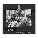 Grasslands Road®  Family is Everything  4-Inch x 6-Inch Frame in Black