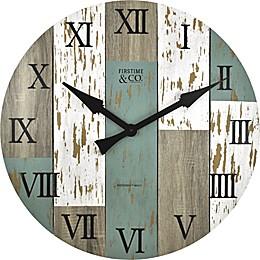FirsTime® Timberworks 27-Inch Distressed Wall Clock