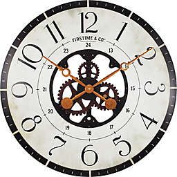 FirsTime® Carlisle Gears Oversized 27-Inch Wall Clock