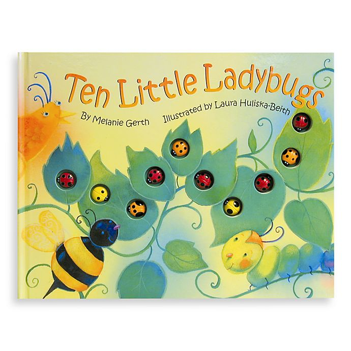Alternate image 1 for Ten Little Ladybugs Board Book