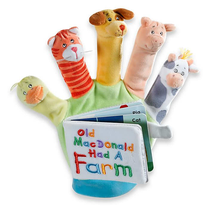 Alternate image 1 for Old MacDonald: A Hand-Puppet Board Book