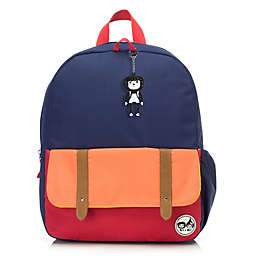 Babymel™ Zip & Zoe Junior Color Block Backpack in Navy