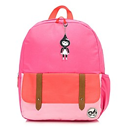 Babymel™ Zip & Zoe Junior Color Block Backpack in Bright Pink