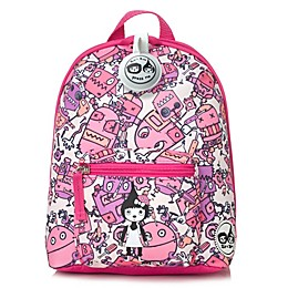 Babymel™ Zip & Zoe Robots Mini Backpack in Pink