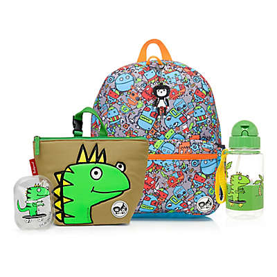 BabyMel™ Zip and Zoe Robots Blue/Dylan Junior Backpack