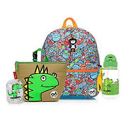 BabyMel™ Zip and Zoe Robots Blue/Dylan Junior Backpack