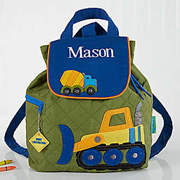 Construction Embroidered Kid's Backpack by Stephen Joseph