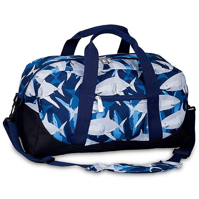 eb69c6eed0 Wildkin Sharks Overnighter Duffle Bag in Blue