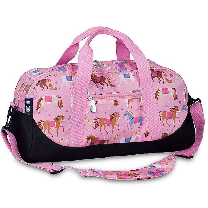 Alternate image 1 for Olive Kids Horses Overnighter Duffel Bag