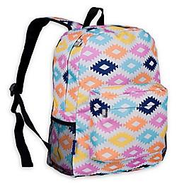 Wildkin Aztec Crackerjack Backpack in Blue