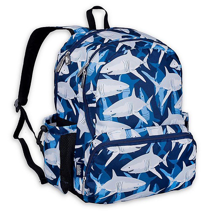 Alternate image 1 for Wildkin Sharks Megapak Backpack