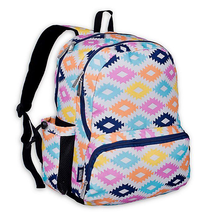 Alternate image 1 for Wildkin Aztec Megapak Backpack in Pink