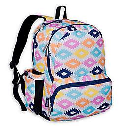 acf1285590cc Wildkin Aztec Megapak Backpack in Pink