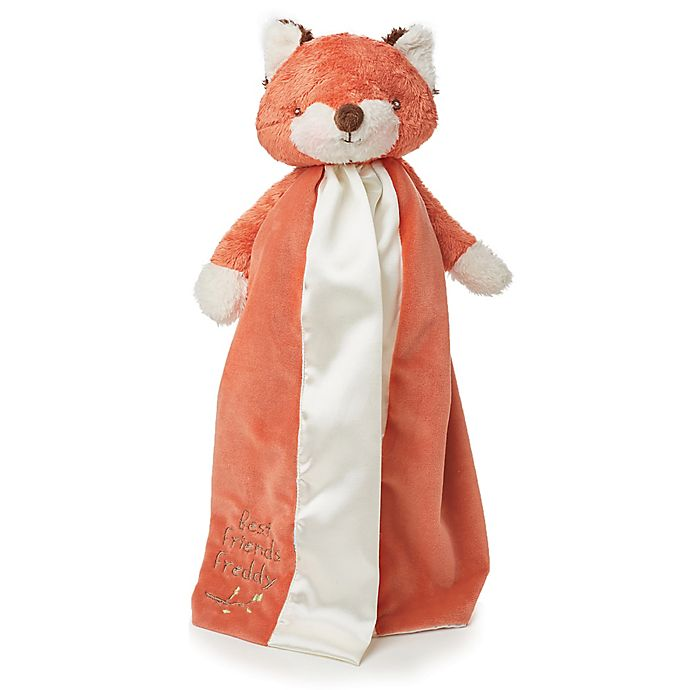Alternate image 1 for Bunnies By The Bay™ Freddy Fox Buddy Blanket in Rust/Cream