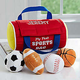 Embroidered My First Sports Bag by Baby Gund®