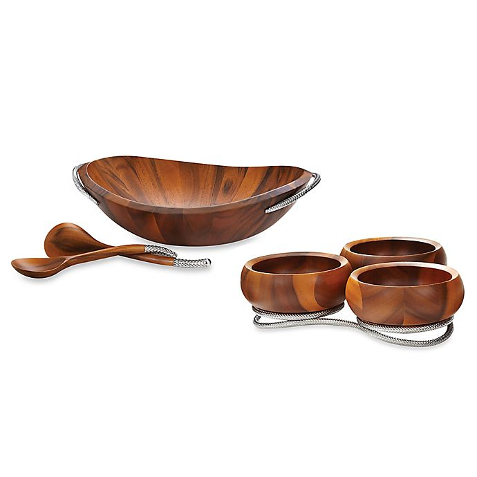 Alternate image 1 for Nambe Braid Serveware Collection