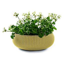 Keter® Cozies Knit Round Resin Indoor/Outdoor Planter