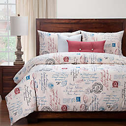 SIScovers® Modern Farmhouse Postscript Duvet Cover Set